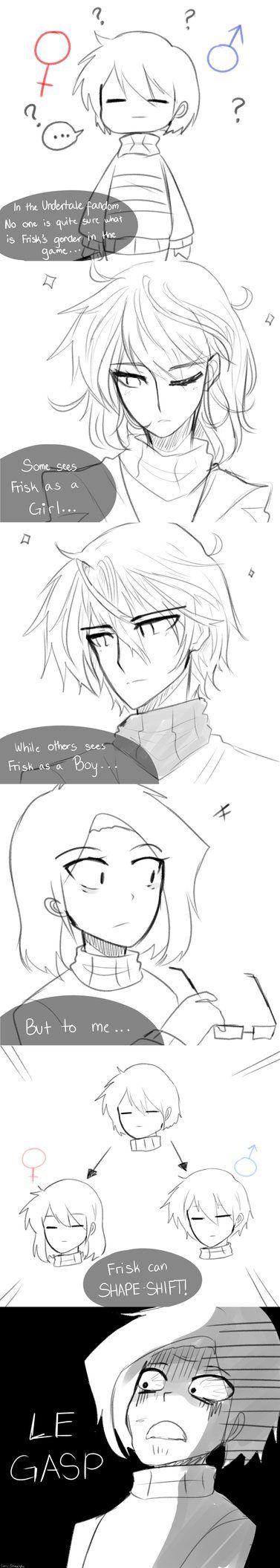 Frisk's Gender by ShweezyLiz