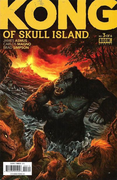 Cover for Kong of Skull Island (Boom! Studios, 2016 series) #3 [Retailer Incentive]