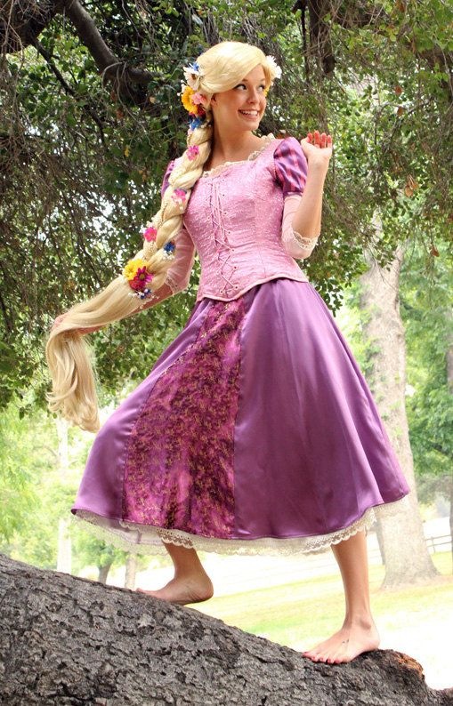 Rapunzel Tangled Inspired Adult Costume Wig - A True Enchantment Original at etsy.com