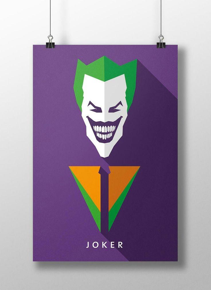 """A verdadeira história do Coringa é um grande mistério. A sua teoria mais famosa mesmo é de que tenha caído em um tanque com uma substância desconhecida que tenha o alterado fisicamente, e ao ver o que se tornou enlouqueceu. """"Para saber mais clique na imagem há mais sobre o Joker (Coringa)"""""""