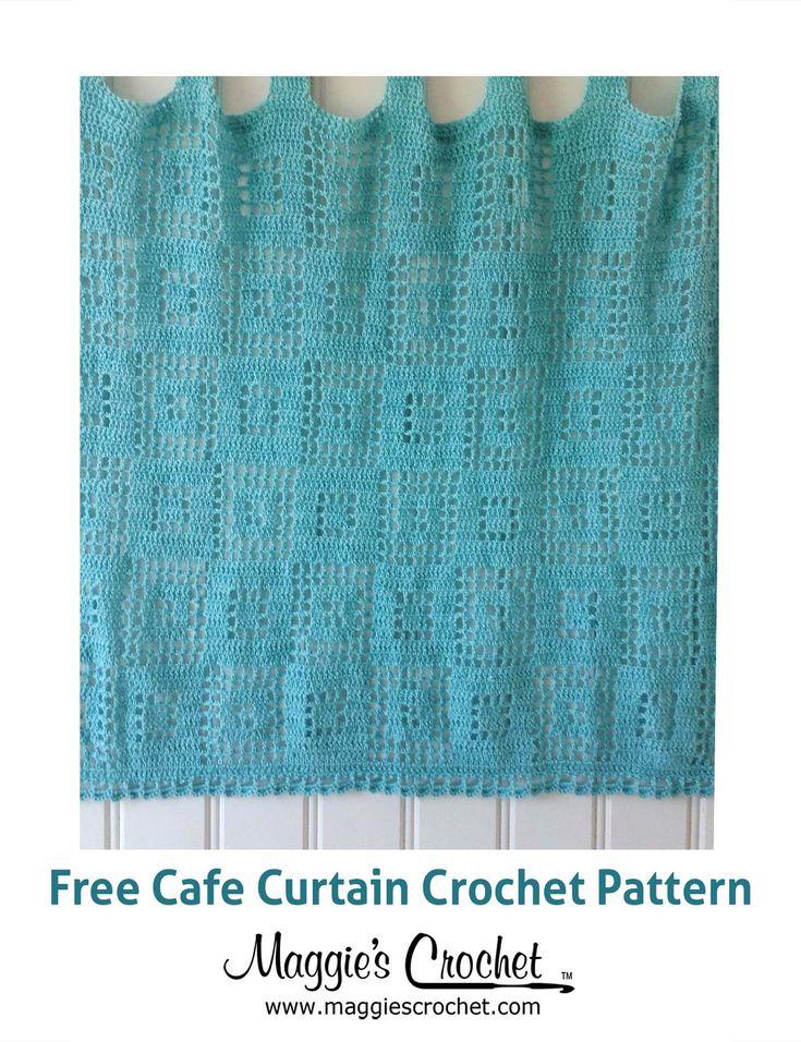 Cafe Curtain Free Crochet Pattern