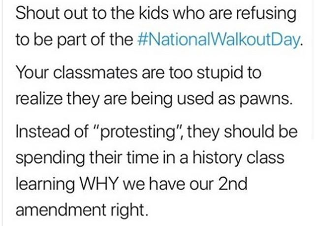 Maybe This Should Be Walk Up Instead >> Instead Of Walking Out Maybe They Should Walkup To That Kid That