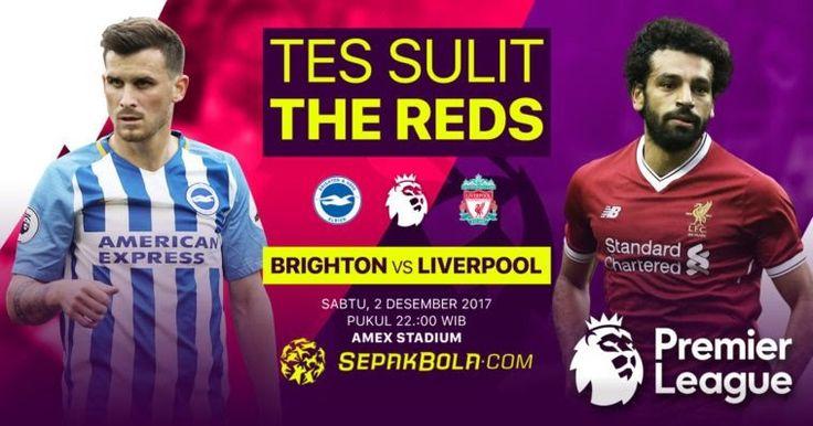 K.O 22.00 Brighton & Hove Albion vs Liverpool Live Streaming Premier League http://ift.tt/2j6LcjF EPL Liverpool Match
