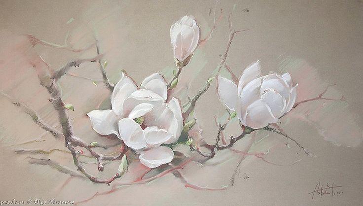 Нежные и трогательные полотна Ольги Абрамовой