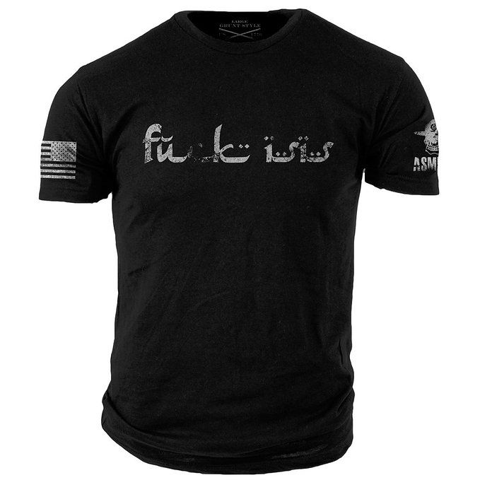 Grunt Style ASMDSS F@ck ISIS Men's T-Shirt