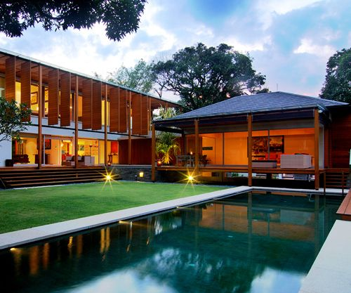 tropical modern architecture - Google Search