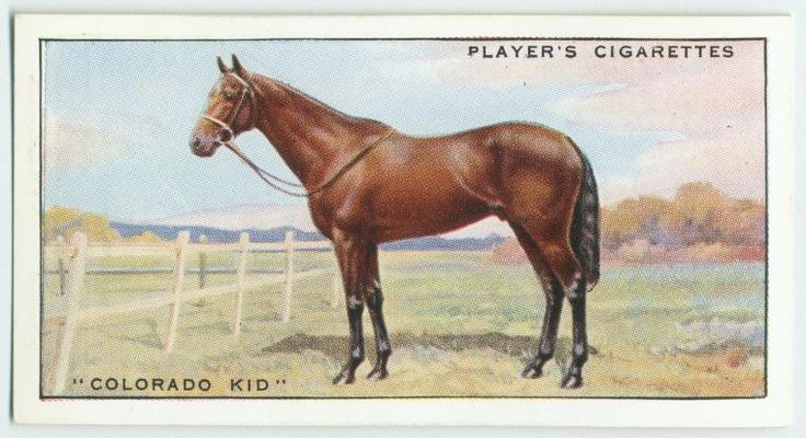 """""""Colorado Kid"""". From New York Public Library Digital Collections."""