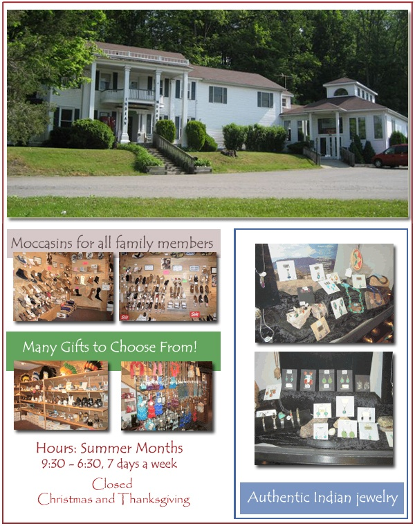 Musty artifacts and eclectic shopping at the Pocono Indian Museum on State Route 209 in Bushkill, PA http://www.poconoindianmuseumonline.com