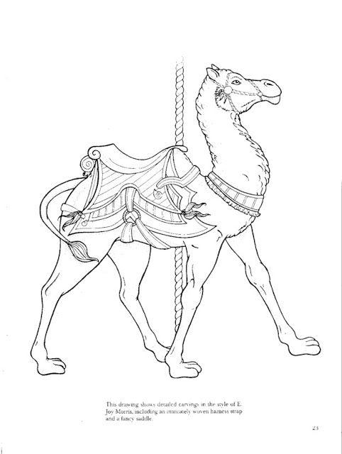 carousel animals coloring book bobogirl vah lbuns da web do picasa