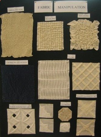 Love fabric manipulation; want to incorporate in quilt one day! (no link to instructions; link to classes). #quilting