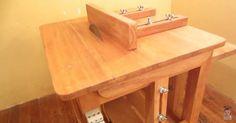 Fácil fazer uma bancada para serra circular de madeira e furadeira