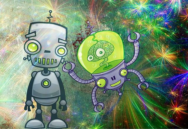 Photo By cocoparisienne | Pixabay   #robot #forward #comic #sciencecamp #sciencespo #sciencejokes #scienceforkids #sciencelab