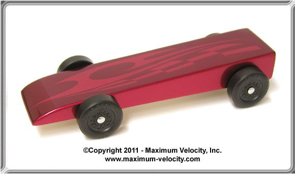 Wedge Pinewood Derby Car Kit - Complete