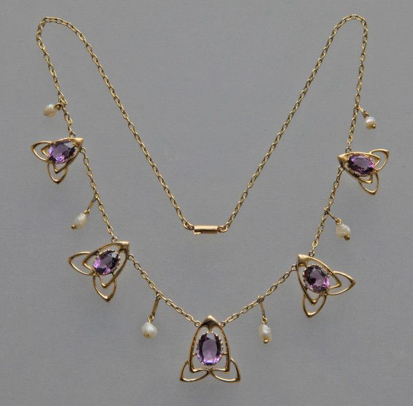 Liberty & Co Necklace by ARCHIBALD KNOX - Tadema Gallery