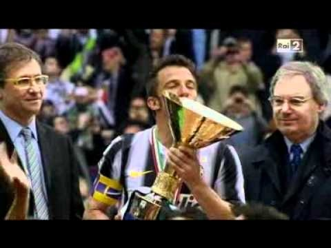 Del Piero celebrazione scudetto