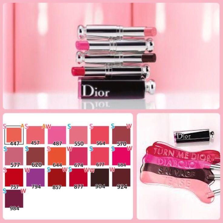 久々に大好評シリーズ✨コスメブランドのアイテム別PC診断 今回は先日新発売された#Dior の#アディクトラッカースティック ✨ ピンクS→Spring オレンジA→Autumn 水色S→Su - style_works_