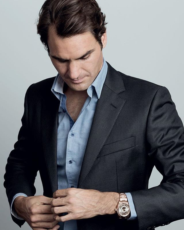 Miss you Roger we expect Roger the time required #federer #tennis