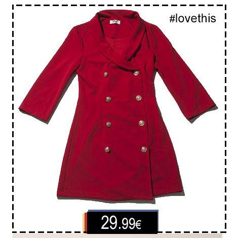 •Φόρεμα Mini Blazer• Παραγγελίες: °Με μήνυμα, °☎ Τηλεφωνικα: 2104965329, ° Εδώ: http://bit.ly/2hU0Z4c