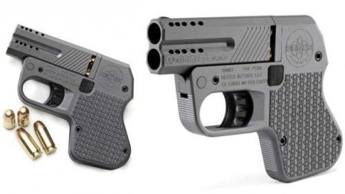 DoubleTap .45 Caliber Pistol Is World's Smallest - OhGizmo! ^