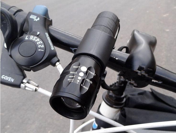 2000 Lumens Bicycle Light LED Bike Bicycle Front Waterproof Light Holder La J2Y3