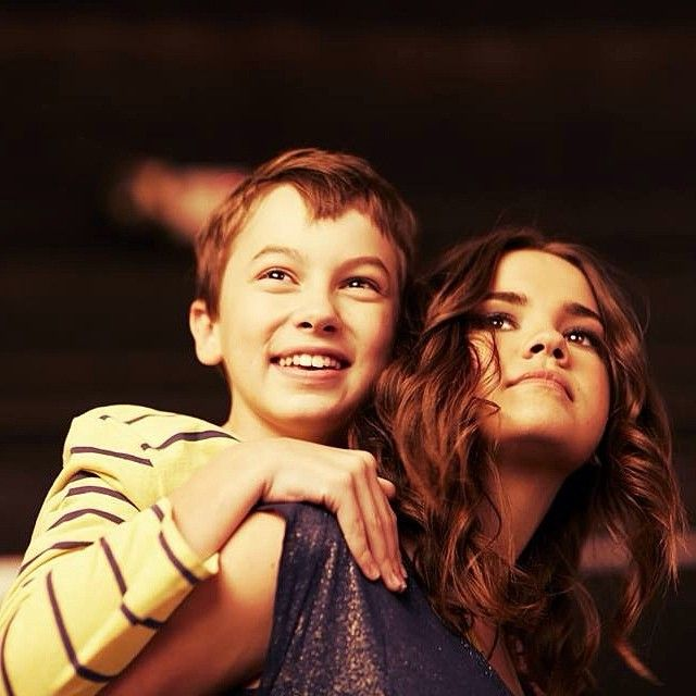 Love these cuties!! Hayden Byerly and Maia Mitchell #FostersFamilyForever #TheFosters