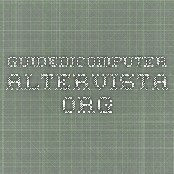 guidedicomputer.altervista.org