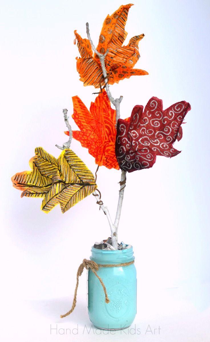 Hand Made Kids Art: Easy Fall Crafts