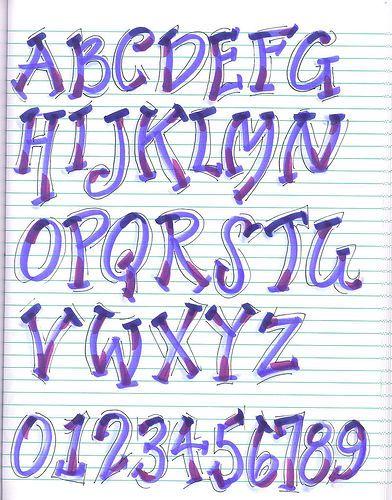 super efecto!! new alphabet