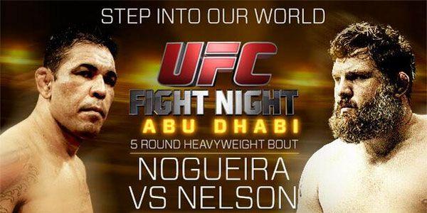 Minotauro x Roy Nelson Ao Vivo no Combate : UFC Fight Night | Tretando Videos