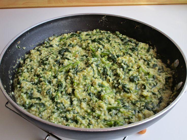 Miglio e amaranto agli spinaci thescottishtomato.blogspot.com