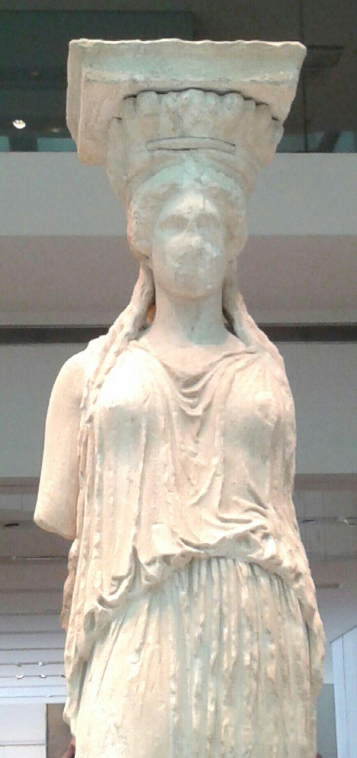 Καρυάτιδα,Μουσείο Ακρόπολης - Caryatid, Acropolis museum
