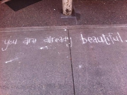 You are already beautiful