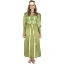 Fancy dress king (Leeds) Medieval Maiden Costume