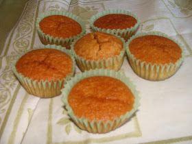 Delícias da Moni: Muffins de Iogurte Grego