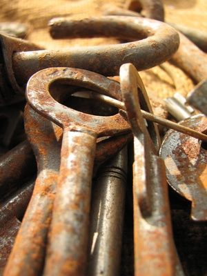 How to Clean Rust From Vintage Keys