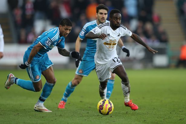 Swansea City winger Nathan Dyer admits he let his form slip but hopes to be more consistent next season