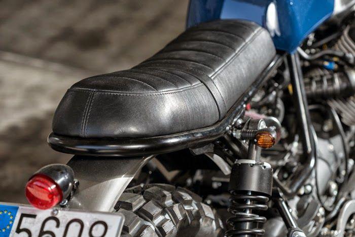 The Bullitt: Cafe Racer Dreams' Moto Guzzi V7 Stone