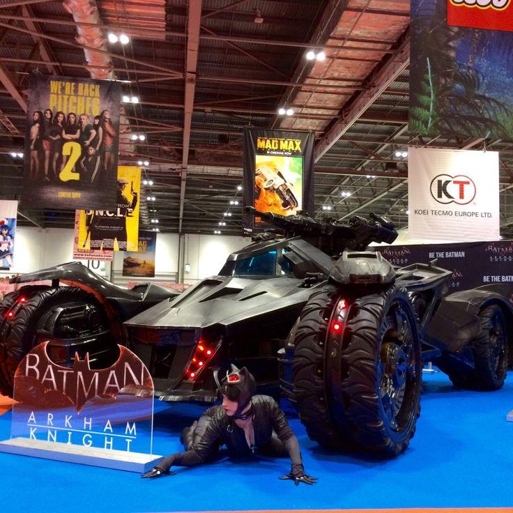 Batman: Arkham Knight life-size replica Batmobile unveiled at MCM London Comic Con