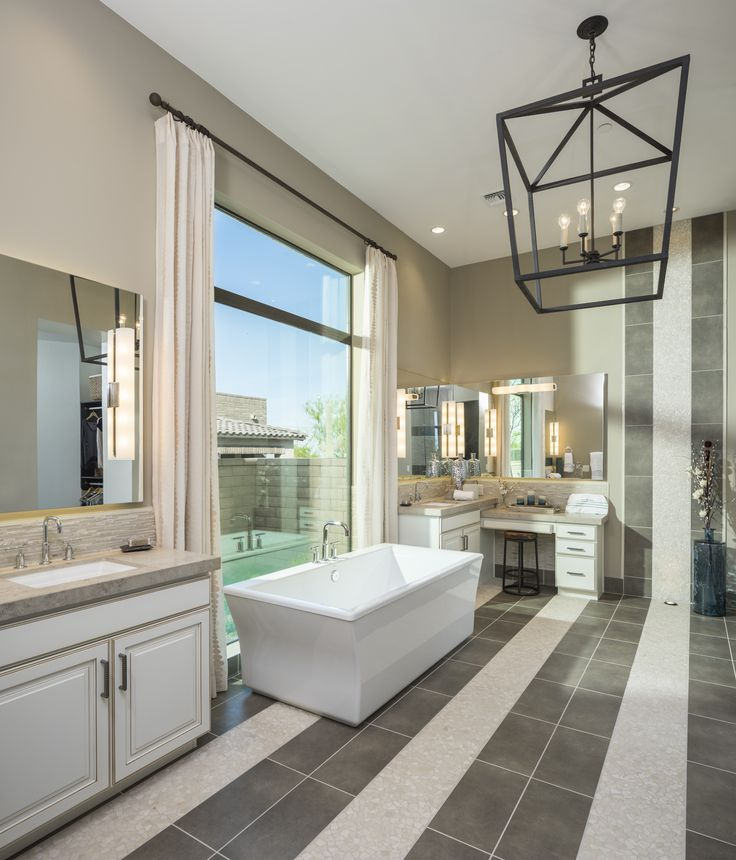 144 best bathrooms images on pinterest bathrooms master for Model bathrooms photos