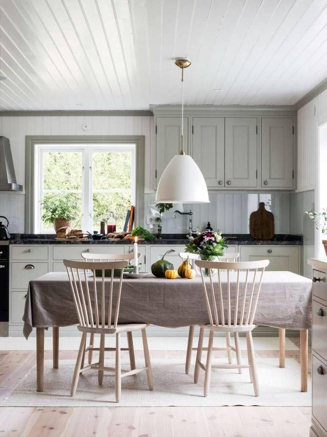 kök i gammal stil
