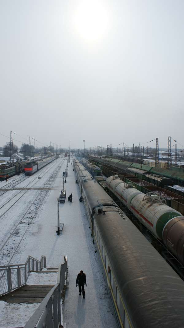 Barabinsk Train Station - Transiberian railroad