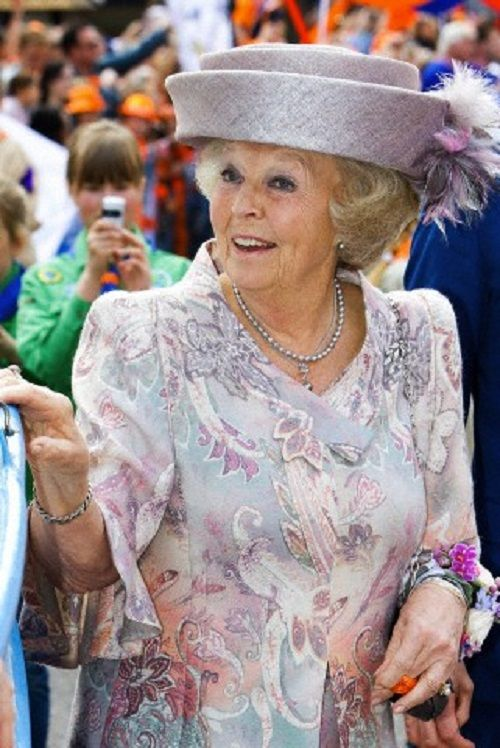 Dutch Princess Beatrix attends the King's Day 2014 celebrations in Amstelveen