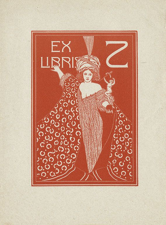 All sizes | [Bookplate of Z (Hans Zarth)] | Flickr - Photo Sharing!