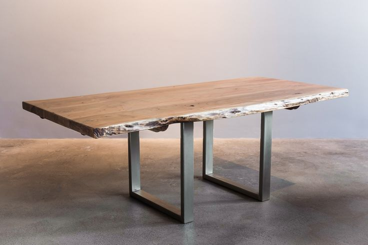 Freeform acacia table