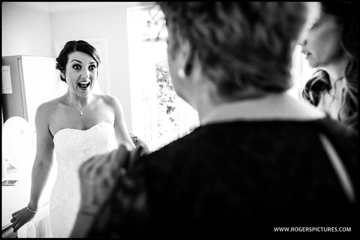Fantastic reaction from Stephanie as her Mum sees her in her wedding dress, more here -
