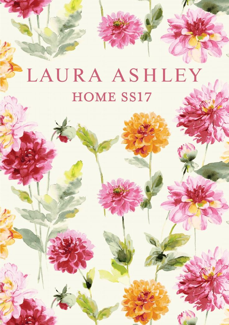 LAURA ASHLEY Home ss17 lookbook