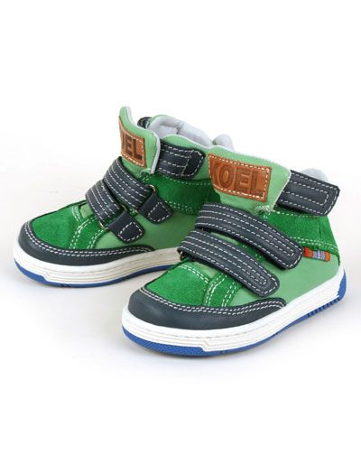 Green high Daan shoes - Koel for Kids
