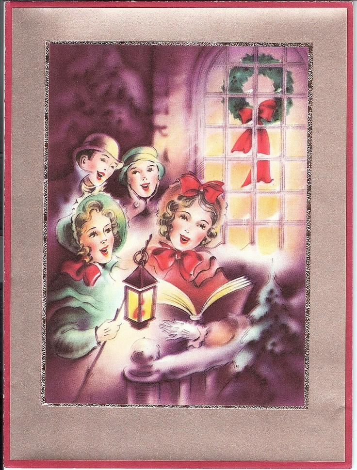 302 Best Christmas Carolers Images On Pinterest Natal