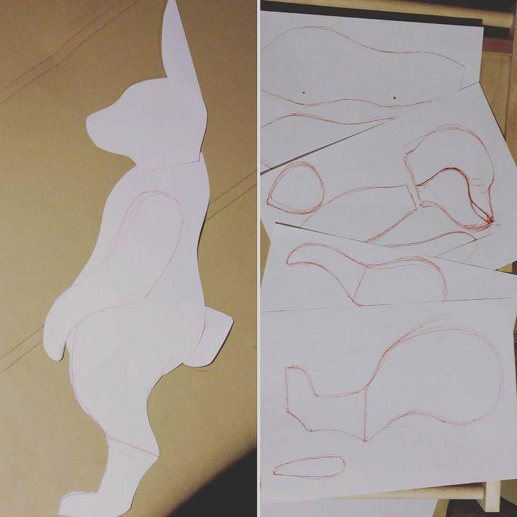 Кроличьи зарисовки) Страшновато, но в бой! #макаровавиктория #мишка #мишкатедди…