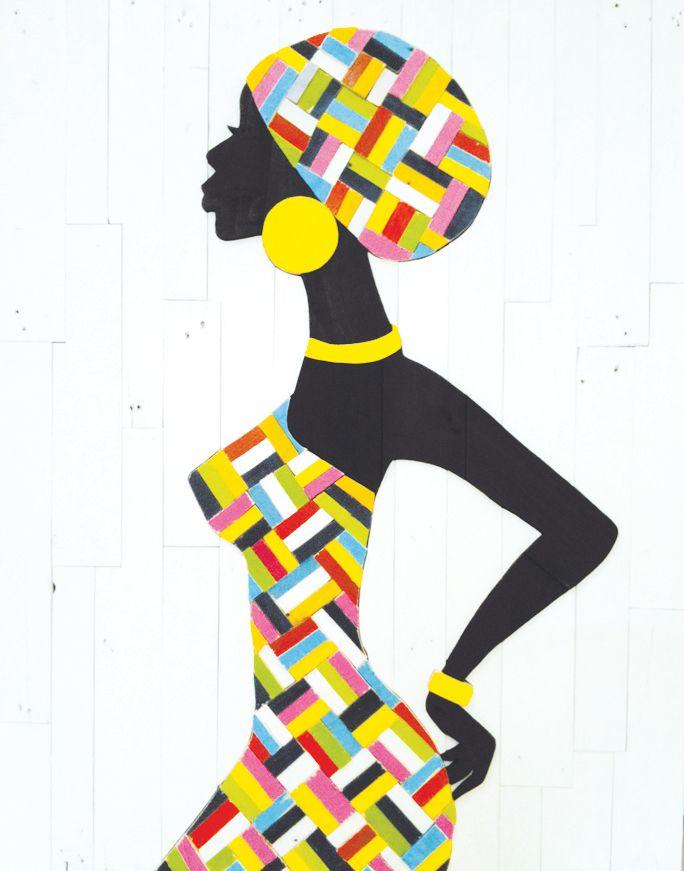 Galerie Pien Rademakers/ Ronald Edens/ Kunst/ Sloophout/ African Lady